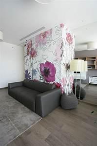 Floral Wallpaper Interior Design Ideas