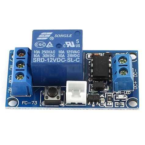 dc 12v 1 ch bistable self locking relay expansion circuit