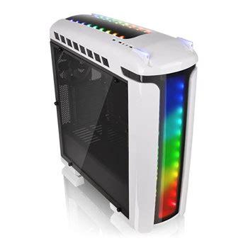 best pc case lighting versa c22 rgb snow edition pc gaming case from thermaltake