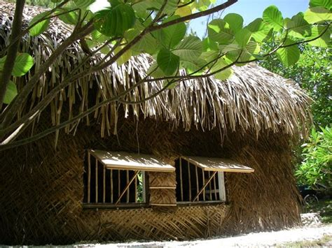 Marshall Islands Traditional House