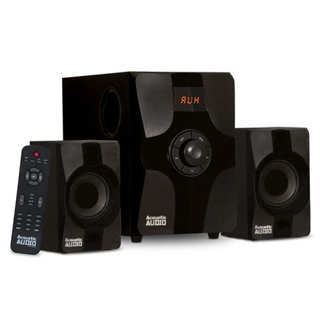 Acoustic Audio AA2131 Bluetooth Home 2.1 Speaker System ...