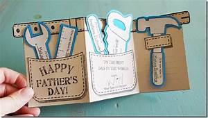 Father's Day Cards {with free Printable | Tool belt and ...