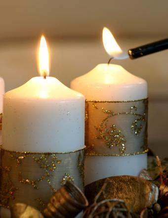 decorare le candele per natale come decorare candele di natale