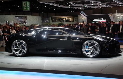 Bugatti La Voiture Noire unveiled, most expensive car ever ...