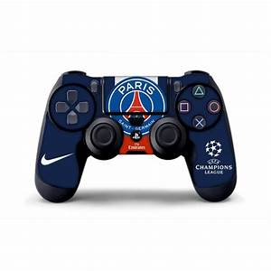 Skin PSG Manette PS4 Sticker 100 Made In France Haute
