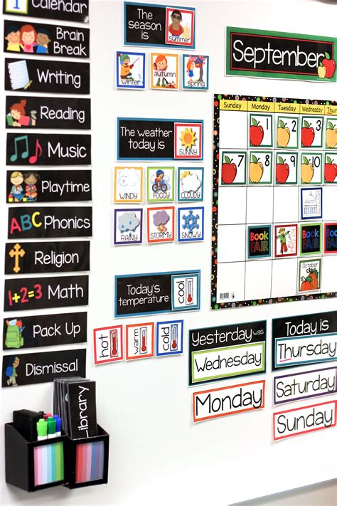 teaching with my classroom calendar kinderland 945 | b002068f9c3ba3a8d19dc7e8c621b3b4