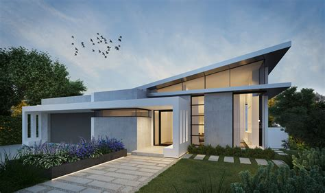 Contemporary Single Storey Residence  Dela Designs