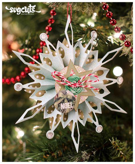 3d christmas tree snowman element. Free SVG File - 10.20.12 - Cone Ornament | SVGCuts.com Blog