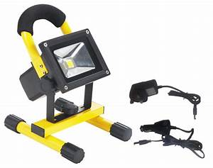 Rechargeable led worklight w