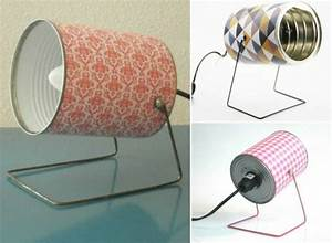 Comment Fabriquer Une Lampe : 1001 tutoriels et id es de recyclage bo te de conserve ~ Medecine-chirurgie-esthetiques.com Avis de Voitures
