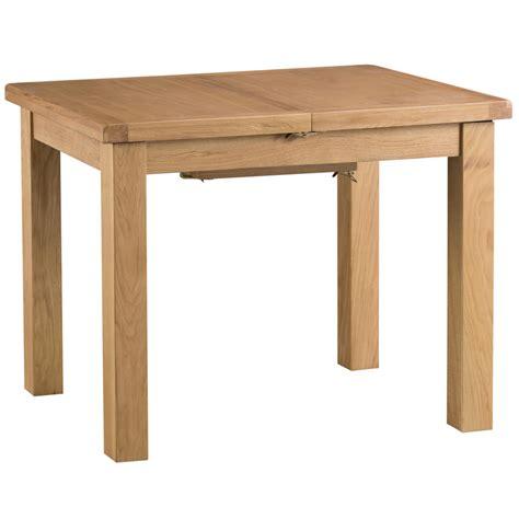oak butterfly table hexham oak 3ft butterfly extending table with metal runner 1127