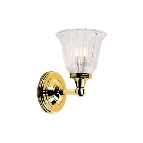 Single Bathroom Light Fixtures by Elstead Lighting Austen Single Light Bathroom Fixture In