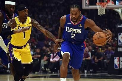 Clippers Lakers Leonard Kawhi Angeles Win Vs