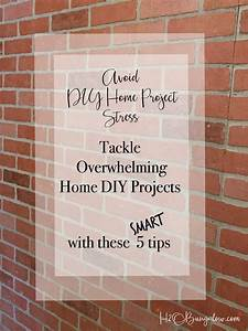 5 Tips to Tackle Overwhelming Home DIY Projects - H20Bungalow