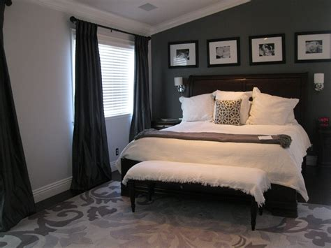 bedroom image result for grey walls and wood floors