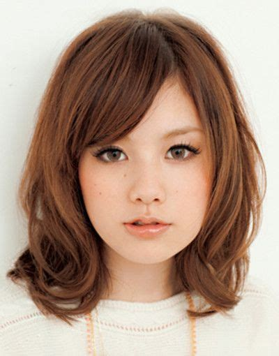 asian short hairstyles   faces   medium