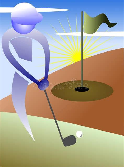 golf background  grey tones stock vector illustration