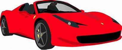 Clipart Ferrari Spider Clip Cartoon Cliparts Ferrary