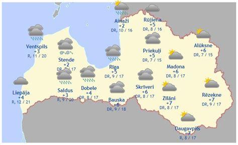 Laika prognoze šodienai, 6. aprīlim - Aktuāli - epadomi.lv