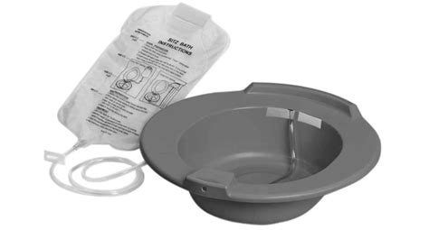 bain de siege hemorroides bain de siège en plastique medline dufort et lavigne