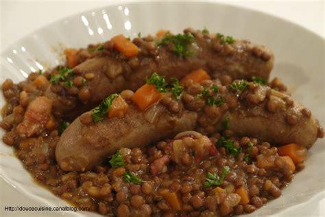 cuisiner des lentilles en boite saucisses aux lentilles recette de gordon ramsay douce