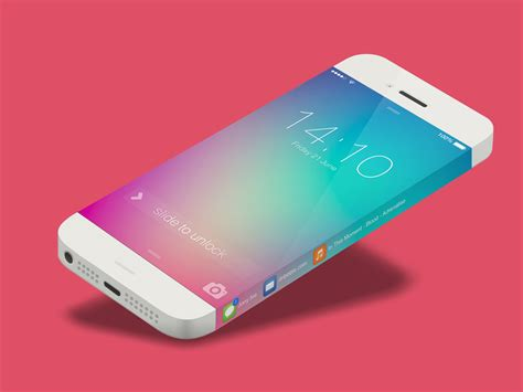 iphone 6 display iphone 6 concept steals samsung feature for endless