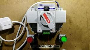 Automatic Generator Changeover Switch  With Schematic