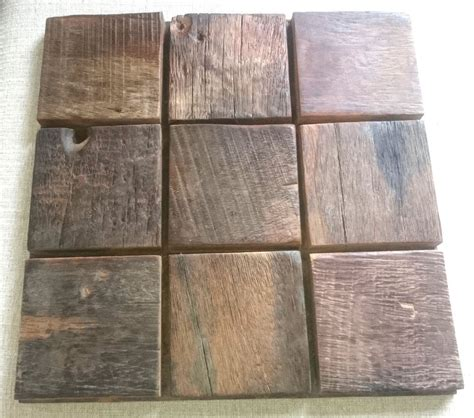 Ebay Decorative Wall Tiles by Wood Mosaic Tiles For Wall Decorations Rustic Wall