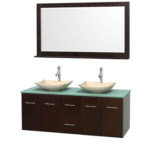 foremost teagen 58 in vanity in espresso with
