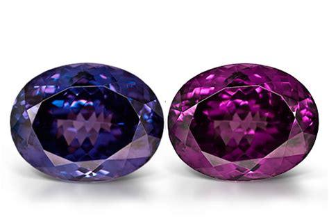 color changing gemstones color change garnet gemstone information gemopedia by jtv