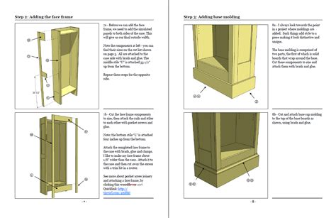 bookcase woodworking plans  woodworking