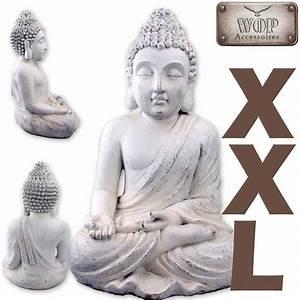 Buddha Statue Im Garten : xxl buddha figur statue feng shui skulptur budda thai dekofigur garten ebay ~ Bigdaddyawards.com Haus und Dekorationen