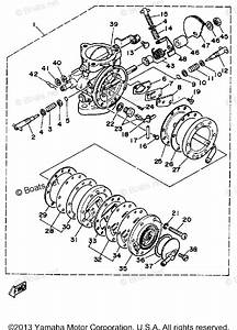 Yamaha Waverunner Parts 1989 Oem Parts Diagram For