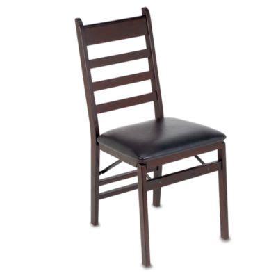 cosco wood folding chair with walnut finish cosco 174 wood folding chair with padded seat