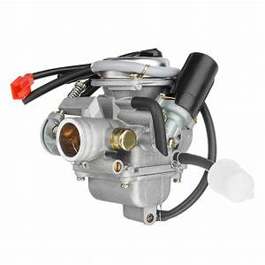 New Gy6 150cc Pd24 Carburetor Carb For Moped Go Kart