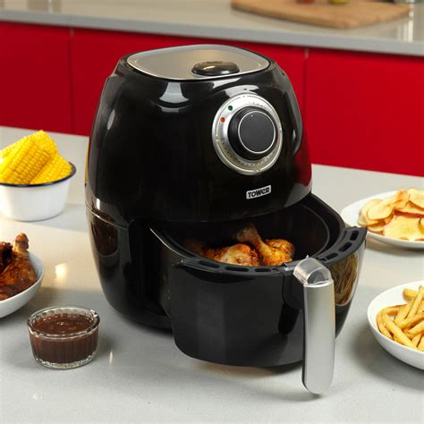 fryer tower air health fat low 2l 1350w capacity food fryers amp picclick brand chip oil