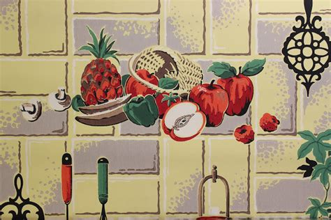 retro wallpaper kitchen rosie s vintage wallpaper history of kitchen wallpaper