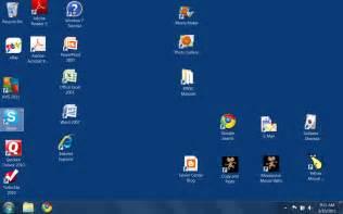 Computer Icon On Desktop