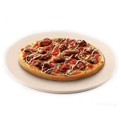 oven cordierite grilling rv grill pizza stone round ended looking