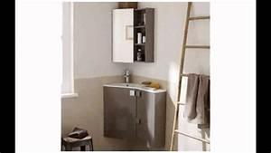 Déco Salle De Bains : id e d co salle de bain petite youtube ~ Melissatoandfro.com Idées de Décoration