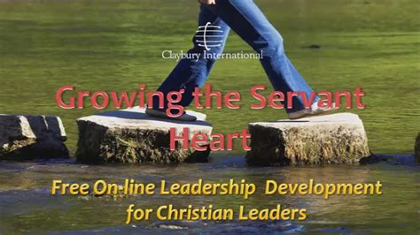 christian leadership development growing  servant