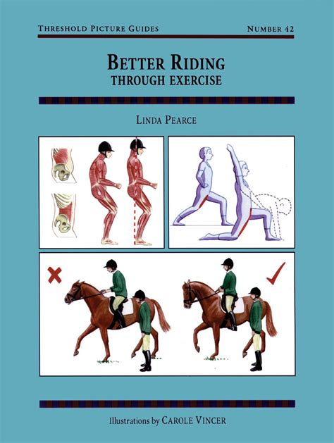 riding exercise horse exercises better pearce linda rider through books position training guide stretches horseback horses riders equestrian tips threshold