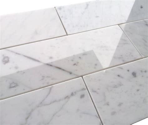 grout color  carrara marble tile