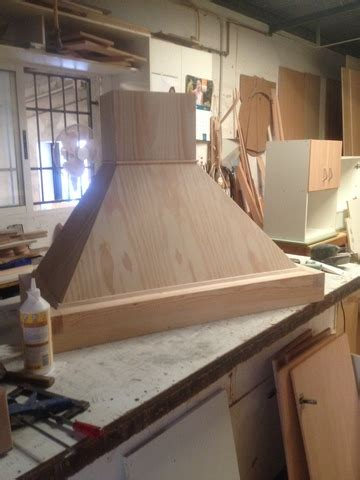 campanas rusticas de madera  cocinas milanuncios