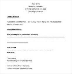 resume templates blank free printable 40 blank resume templates free sles exles