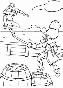 Peter Pan Capitan Uncino Da Stampare E Colorare
