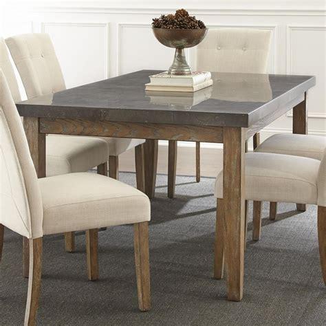 Steve Silver Debby Transitional Rectangular Dining Table