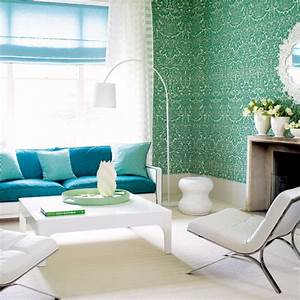 cool green living room design ideas interiorholiccom With cool colors for living room