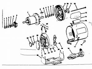 Capacitor Start Motor Wiring Diagram Craftsman