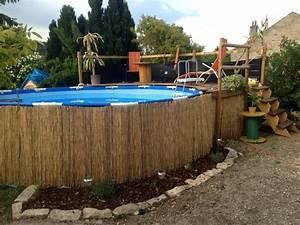 Preparation Terrain Pour Piscine Hors Sol Tubulaire : amenagement piscine hors sol tubulaire ~ Melissatoandfro.com Idées de Décoration